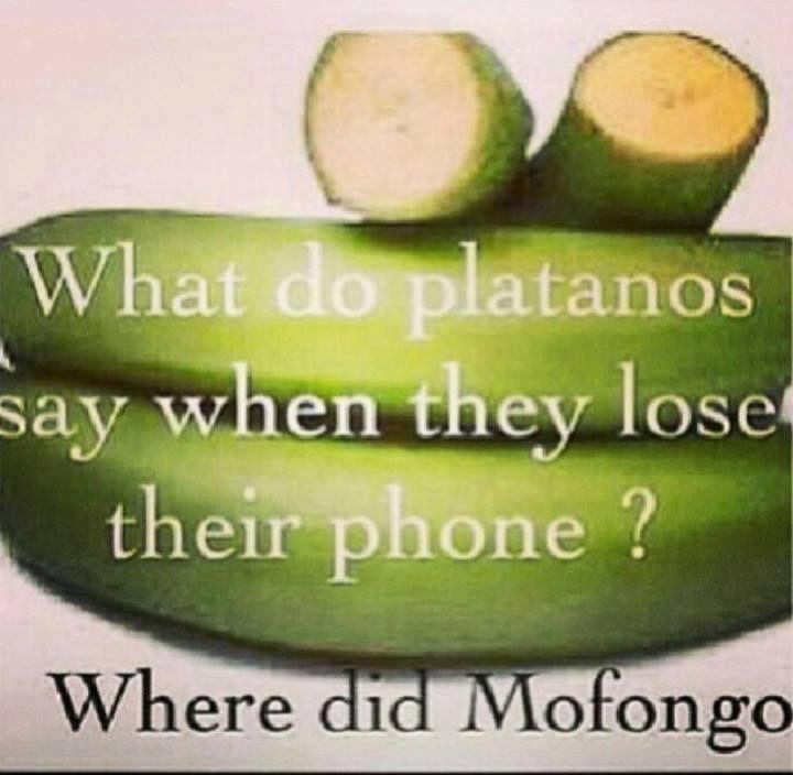 Dominicans be like.... #Mofongo