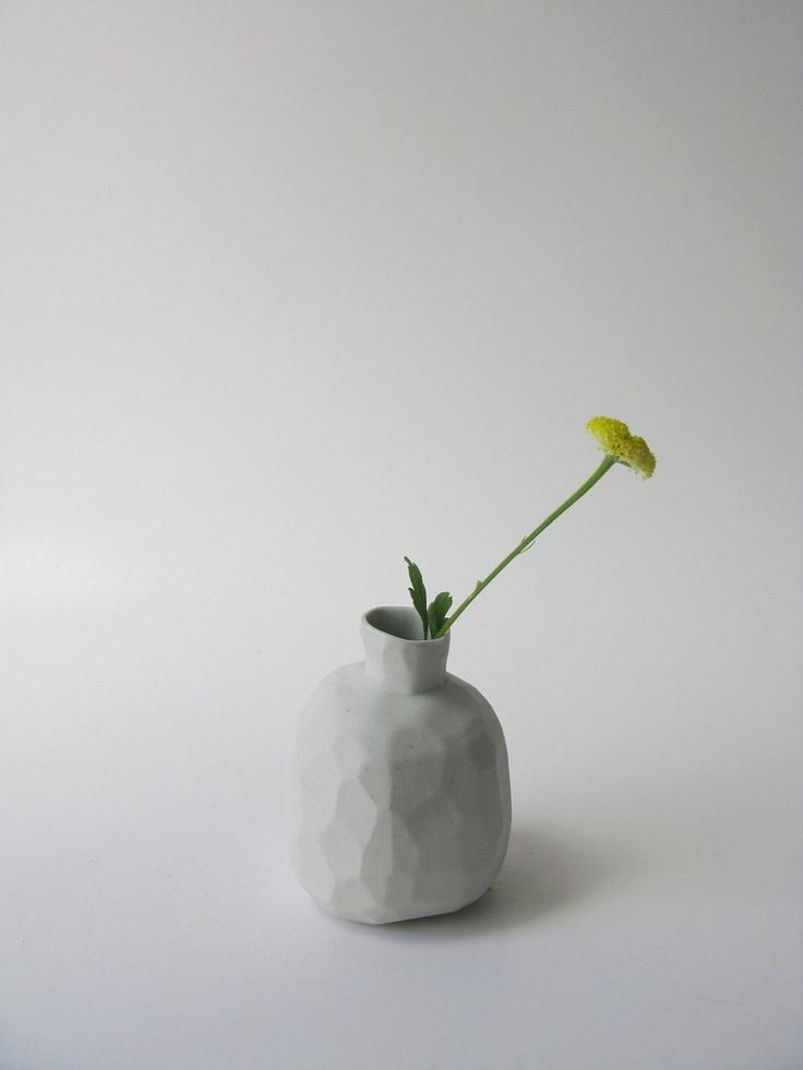 Bridget Bodenham // slip cast vase