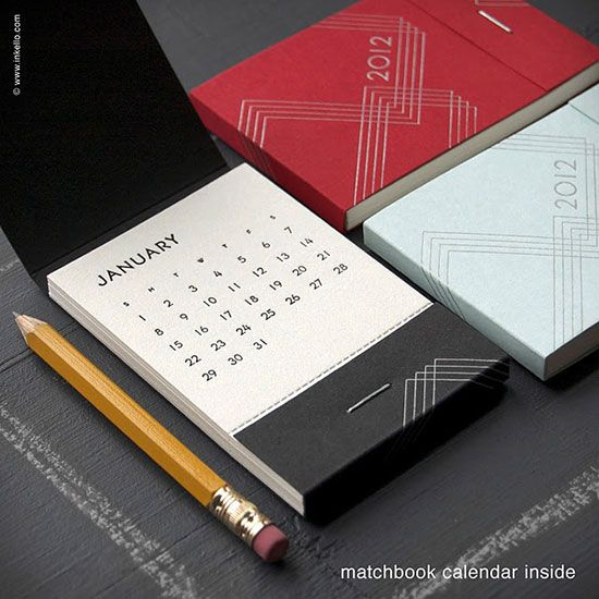 CREATIVE CALENDAR DESIGN IDEA