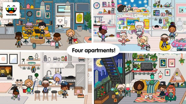 Toca Life: Neighborhood - Toca Boca AB | Create Your Own World, Kids App, Ladybug Anime