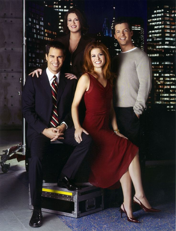 """Will & Grace"" cast....one of my all time favorites"