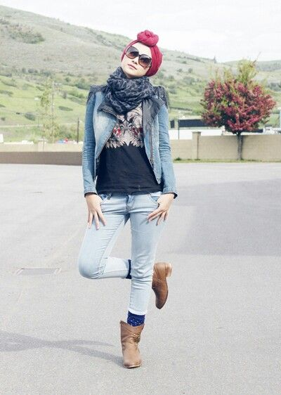 Hijab denim