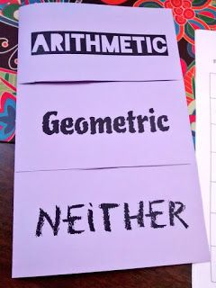 Arithmetic, Geometric, or Neither?