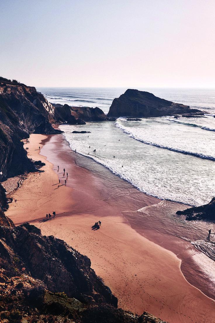 Ganz im Südwesten Portugals liegt die letzte wilde Küste Europas, eine un