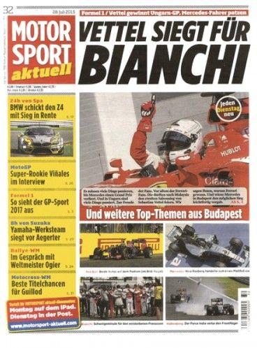Zeitschrift Motorsport Aktuell für 25,80€ mit 20,00€ Gutschein