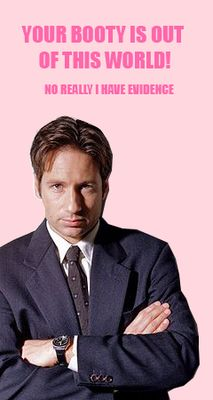 x files valentine's day cards