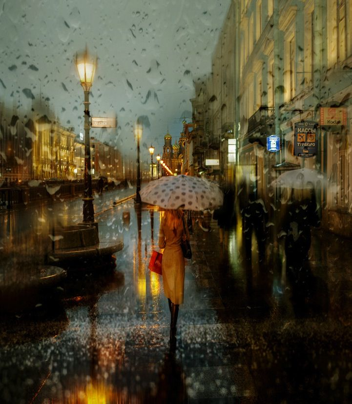 Lovely Rainy Day Photos That Look Like Oil Paintings - My Modern Met