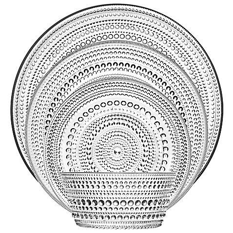 Iittala Kastehelmi Dinnerware in Clear