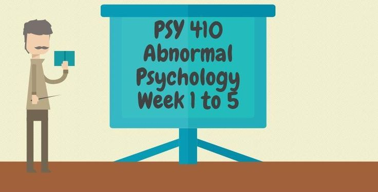 PSY 410 Abnormal Psychology===========================PSY 410 Week 1 Individual Assignment, The Foundations of Abnormal Psychology PaperPSY 410 Week 1 DQ 1 and 2------------------------------------------------------------------------------------------------------------------PSY 410 Week 2 Individual