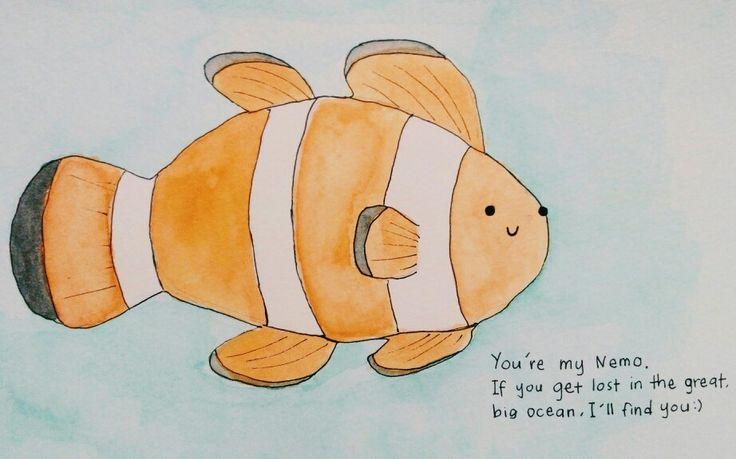 Kat KKIA ada satu kedai tu ada akuarium ikan Nemo, banyakkk.  Sukaaa kottt. Rasa macam nak ambik satu akuarium letak kat rumah. hmmm. ^^,