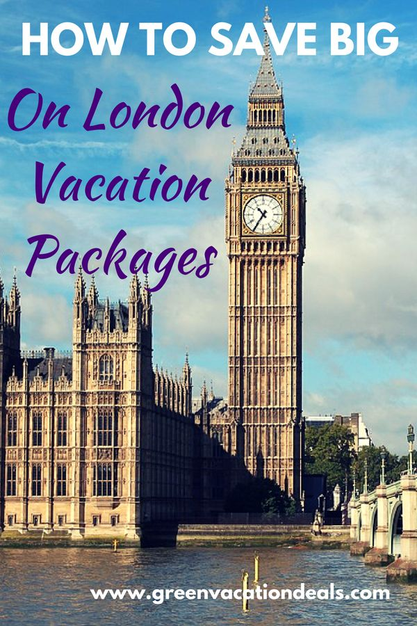 London Travel Tip - if you're planning a trip to London, find out how you can save money with these London vacation packages! Bundle your flight and hotel together for big savings on your London trip. London England Travel #london #londontravel #visitlondon #travel