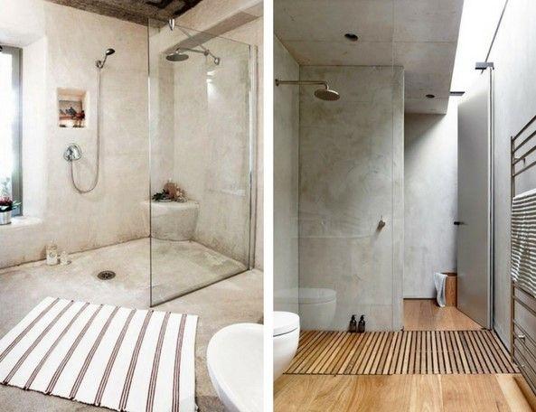 concrete furniture concrete bathrooms with transparent shower glass
