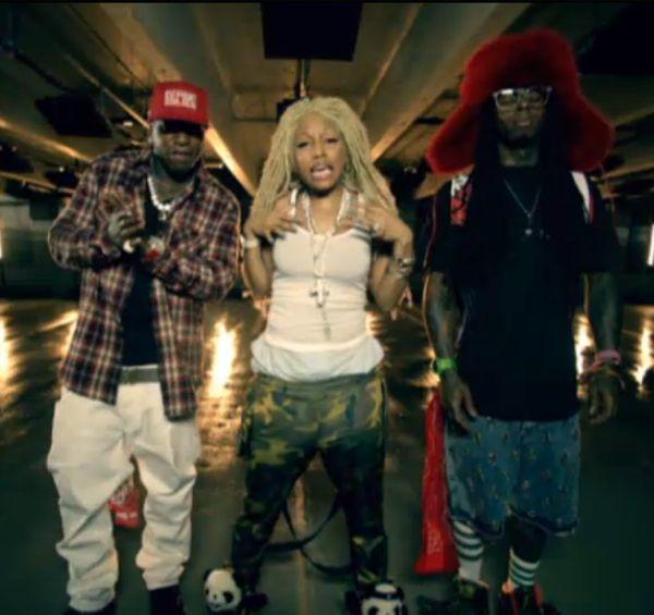 Nicki Minaj And Lil Wayne Kissing Video