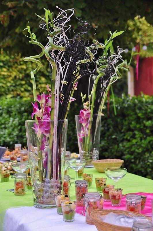17 meilleures id es propos de mariage zen sur pinterest for Decoration de table zen bambou