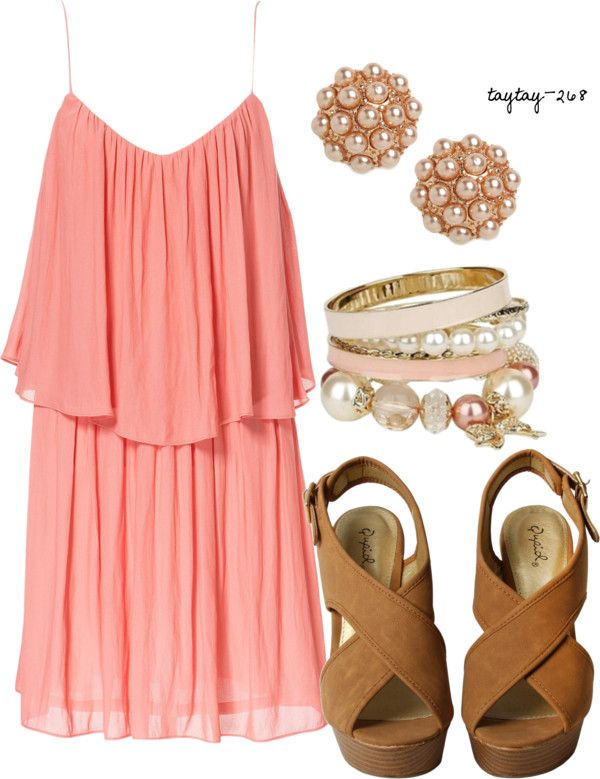 """summer dress up"" by taytay-268 ❤ liked on Polyvore"