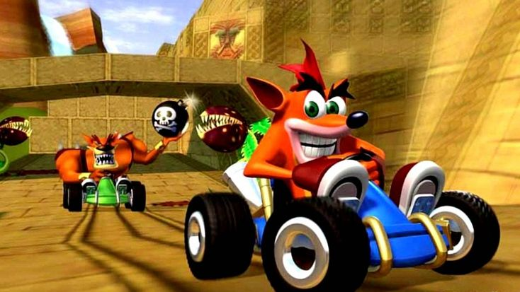 Crash Team Racing: Vicarious interested in making a new game Crash Tag Team Racing PS4