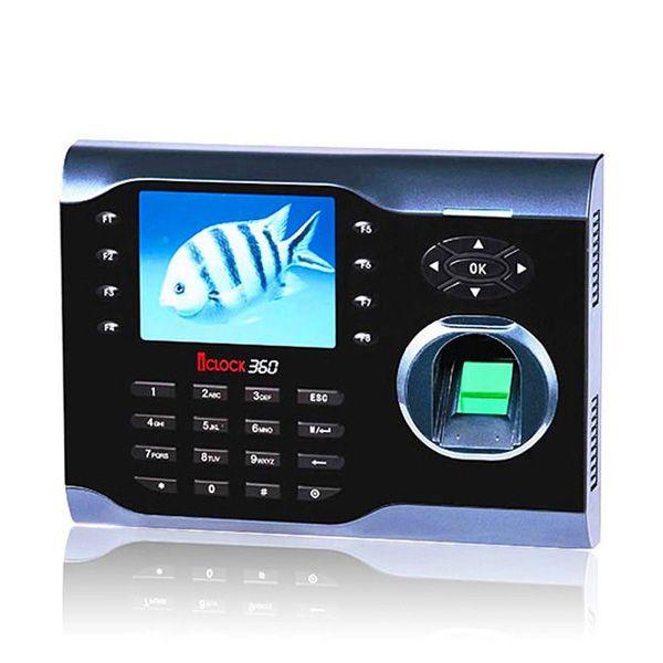 ID Carte Standard USB Port + TCP/IP Biométrique D'empreintes Digitales Temps de Présence HF-iClock360 Livraison ZK Logiciel D'empreintes Digitales Temps D'enregistrement