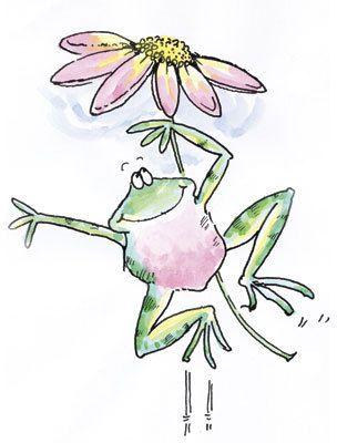 Jump for Joy - Frogs - Penny Black - 123Stitch.com