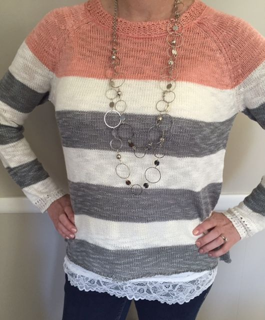 Check out this piece from my latest Stitch Fix. Love my stylist. There is a $20 styling fee; this goes towards any item you decide to keep. Keep what you love.Send the rest back.Shipping is 100% on SF both ways.You can receive as many or as little Fixes as you wish.Cancel at any time.You should give it a try! :) If interested, here is the link to sign up.  https://www.stitchfix.com/referral/4665678 #fashion #style #stitchfix