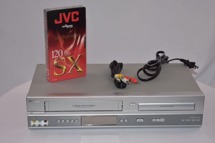 Phillips - DVP 3150V - DVD / VCR Combo Player Tested WORKS !!! #Philips
