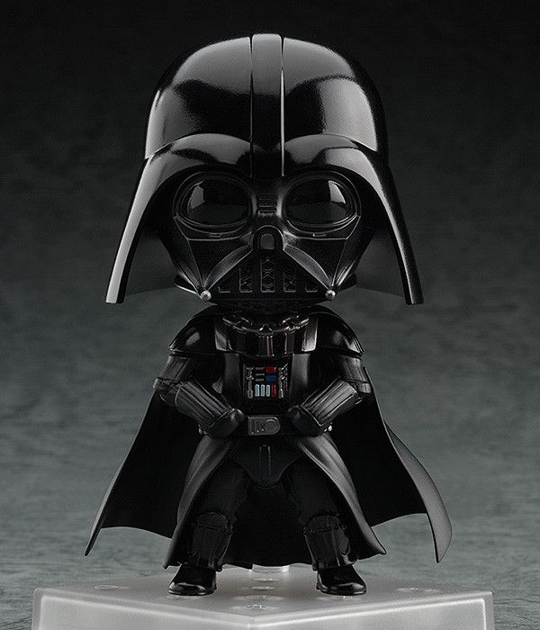 Nendoroid Darth Vader (ねんどろいど だーす・べいだー) Series Star Wars Episode 4: A New Hope Manufacturer Good Smile Company Category Nendoroid Price ¥4,444 (Before Tax) Release Date 2015/08 Specifications Painted non-phthalate PVC non-scale articulated figure with stand included. Approximately 100mm in height.