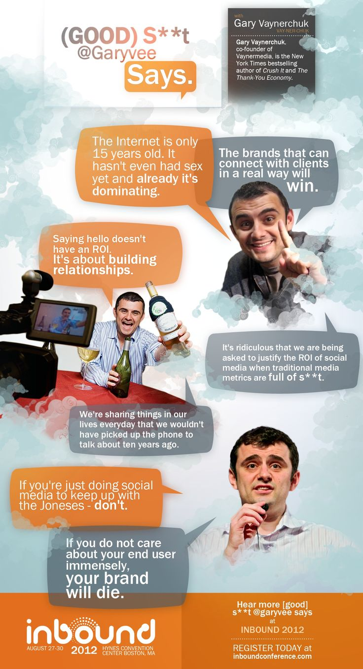 @garyvee is planning on to CRUSH IT at #Inbound12!