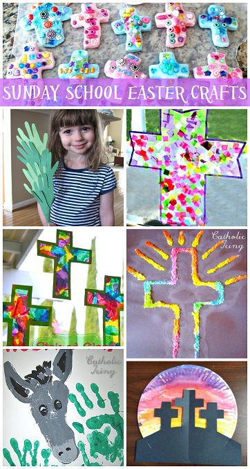 Sunday School Easter Crafts for Kids to Make (Religious)   CraftyMorning.com