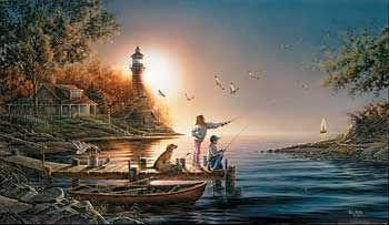 """""""From Sea to Shining Sea""""  Encore Canvas by Terry Redlin"""