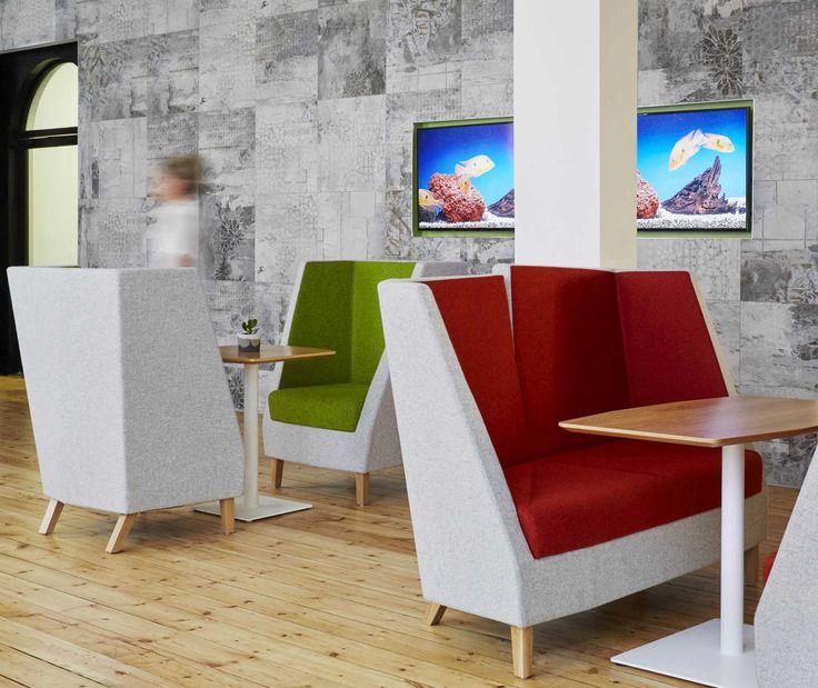 Zenith Interiors: 3000 Split Back 2 Seat Lounge