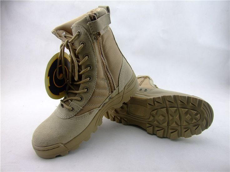 37.69$  Buy here - http://ali0c4.shopchina.info/go.php?t=32730139891 - Men's Desert Camouflage Tactical Boots Army Paintball Shooting Combat Boots Botas Militares Sapatos Masculino 37.69$ #SHOPPING