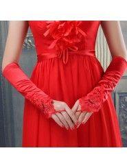Fingerless Bridal Gloves 007