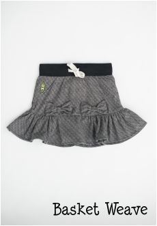 Peekaboo Beans - Kissy Kiss Skirt | playwear for kids on the grow! | Shop at www.peekaboobeans.com #pbhugsandkisses