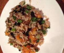 "Brown Rice, Quinoa, & Pumpkin Salad ""Solar Springs"" 