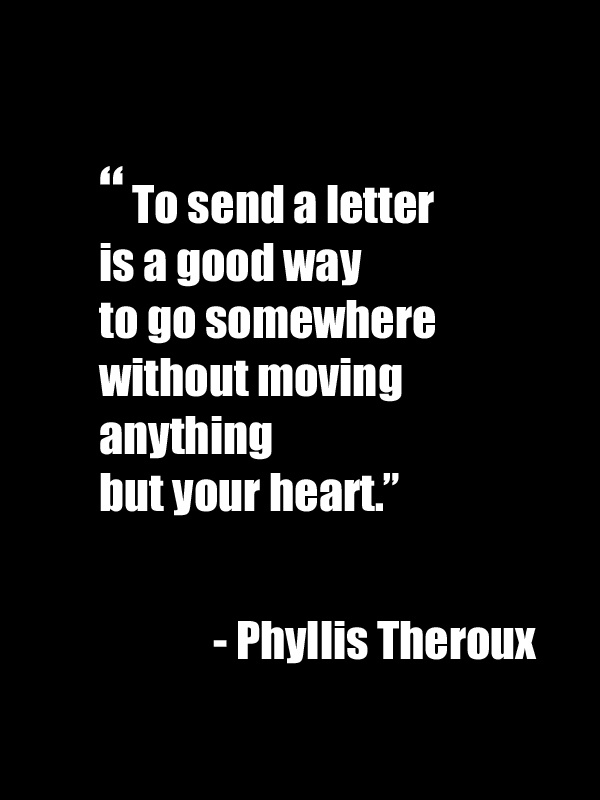 We love this! Sending a letter means so much more than a text or an email. Visit www.expressionery.com for more ways to share the love.