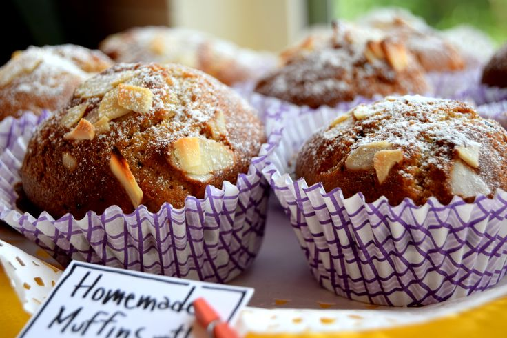 #muffins with rice flour and almonds #ondavicentinab&b #breakfast #Costavicentina #Portugal #Algarve #sweet #food