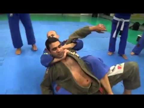 Jiu Jitsu - Exame de faixa branca para azul - YouTube