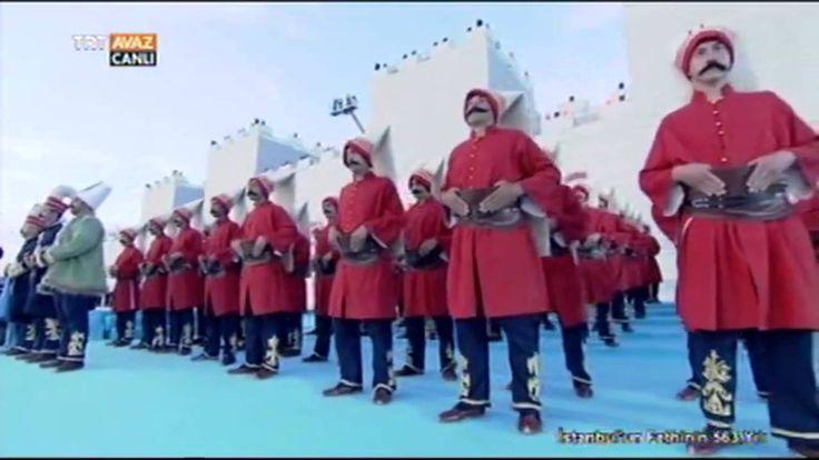 Plevne Marşı - Fethin 563. Yılında 563 Kişilik Mehteran Ekibinden - TRT ...