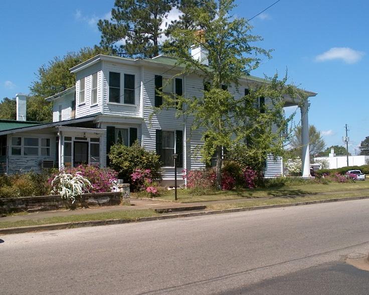 Plantation house in Alabama