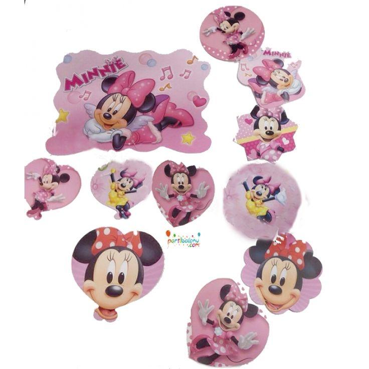 Minnie Mouse Dekoratif Asma Süs Minnie Mouse Dekoratif Asma Süs Ürün Özellikleri  Ürün Paketinde 2 Adet Minnie Mouse Asma Süs bulunur. Karton Dekoratif Asma Süsler renkli baskı ve kalitelidir. Tavana asmak suretiyle kullanılmaktadır. Minnie Mouse temalı asma süsler 5'li ve 4'lü asma süs olmak üzere 2 çeşit halinde gönderilir. Birbirine bağlı şekilde hazır olarak gönderilir ve sarkıt süstür. Doğum Günü Süsleme malzemeleri olarak öne çıkan ürünlerden birisidir.