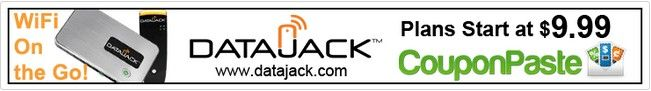 No contract portable internet access and high speed mobile broadband internet connection from Datajack. No credit checks, Immediate activation! Latest DataJack coupon code here! #deals #promo #coupons #Coupon #CODE