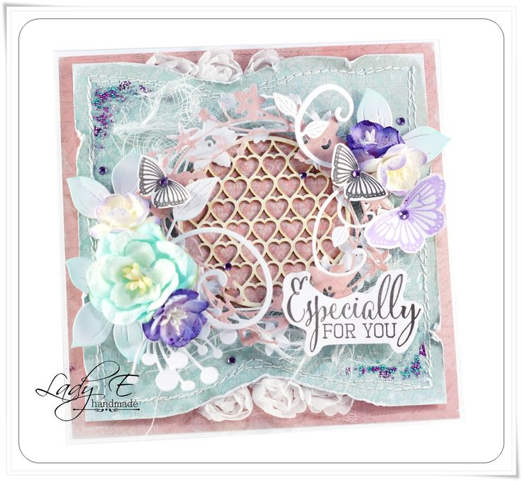 A stunning card by @scrapartbyladye using our FREE Clearly Besotted stamp set with Simply Cards & Papercraft 133. Grab yours here: http://www.moremags.com/home-page-scroller/issue133-simply-cards-papercraft