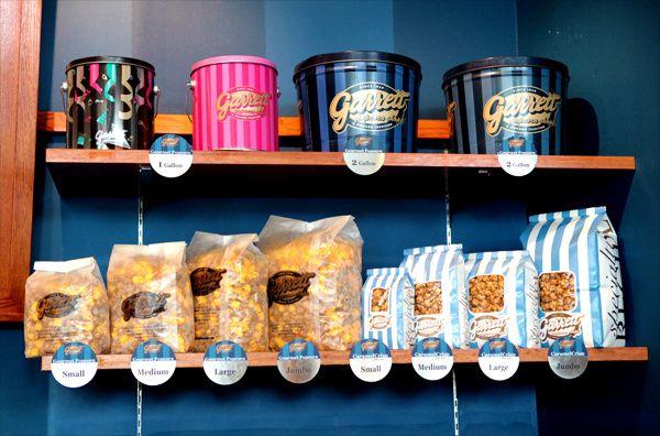 garrett's popcorn | GARRETT popcorn - Chicago Mix, Caramel Crisp, Cheese Corn - LARGE size