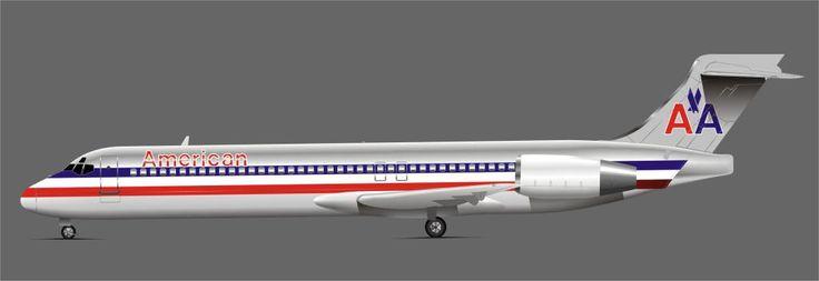 American Airlines Boeing 717-200