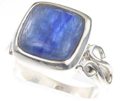 925 Sterling Silver Genuine Kyanite Ring ►► http://www.gemstoneslist.com/jewelry/kyanite-jewelry.html?i=p