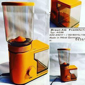 MACINACAFFÈ Vintage BRAUN WEISS COFFEE GRINDER 1975 FUNZIONANTE ☕️☕️☕️☕️ | eBay