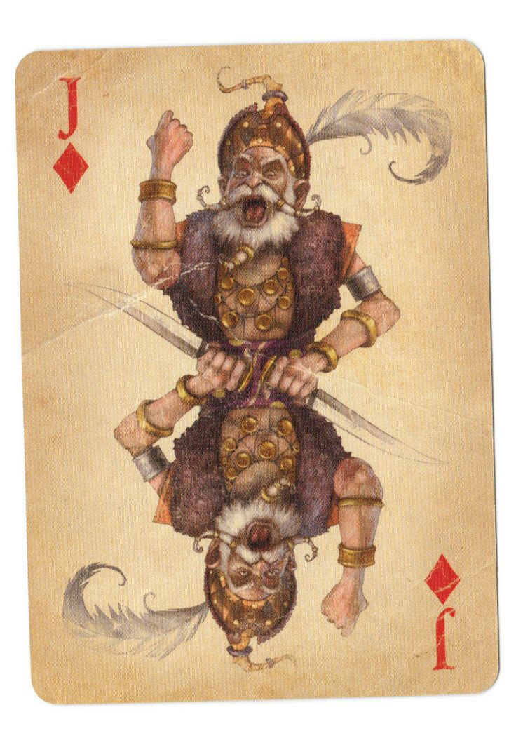 Fable Cards: Jack of Diamonds - poker playing cards, deck of cards, card deck, unique playing cards, art of play cards, design play cards, cool playing cards, cardistry, jugando a las cartas, karty do gry, игральные карты, карты