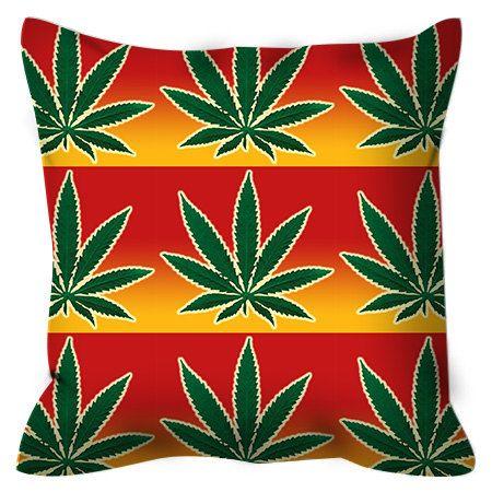 Rasta Shower Curtain Marijuana Weed Pot Dope By XOnceUponADesignx
