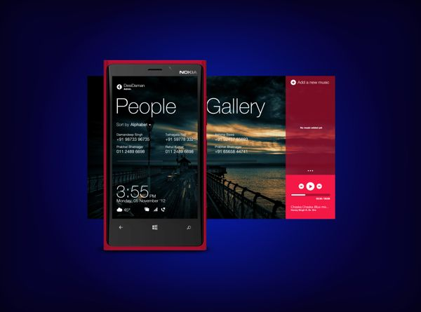 Windows 8 App TRYOUT by DesiDaman , via Behance