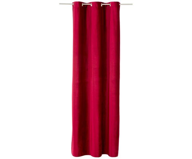 Samt-Vorhang in Rot von TOM TAILOR setzt einen dekorativen Akzent im Raum. Lassen Sie sich von weiteren Vorhängen auf >> WestwingNow inspirieren.