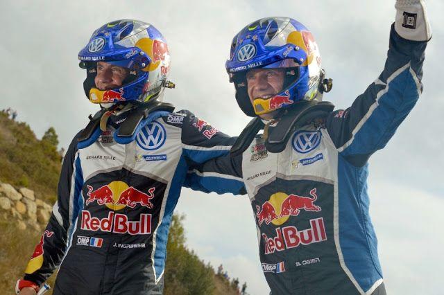 El piloto de Volkswagen Sébastien Ogier consigue su cuarto Mundial de Rallies     SALOU España Octubre 16 2016 /PRNewswire/ - La pareja de Volkswagen formada por Sébastien Ogier (32/F) y su copiloto Julien Ingrassia (36/F) se ha proclamado vencedora del Campeonato del Mundo de Rallies (WRC) por cuarta ocasión tras imponerse en el Rally de España. La undécima ronda de la temporada ha servido como escenario donde el dúo galo a bordo del Volkswagen Polo R WRC lograba sentenciar el título…